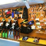 We have everything you need to make your vacation perfection in our fully stocked dive shop!