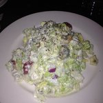 Wedge salad chopped and tossed upon request.