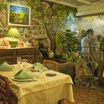 salle à manger côté fontaine
