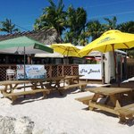 Enjoy a drink or takeout meal at our new Tiki Beach! It's the only beach on Ramrod Key ;)