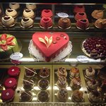 Valentine's Day special desserts by Cafe Tiziano!!!