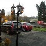 spacious car park