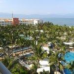 Vista al Mar y resto de hotel desde la habitación