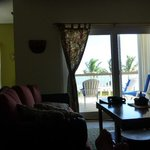 view from the family room