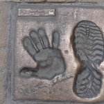 Martin Sheen Footprints