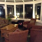 lovely conservatory for a relaxing evening