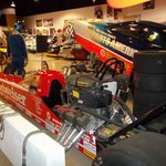 NCARHOF Drag Racing display