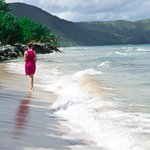 Walking Cane Bay Beach