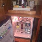 Complimentary minibar