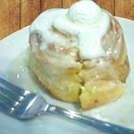 Warm Cinnamon Rolls with Cream Cheese Icing