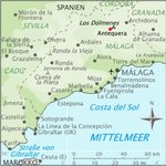 Mapa Hostal Colon Antequera