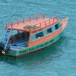 Frank's Glass Bottom Boat - Dion's vessel.
