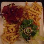 Un des hamburgers
