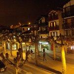 Vista de la calle San Pedro desde mi habitación