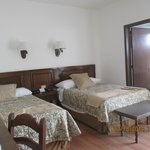 Our two twin bedroom - spacious & comfortable!