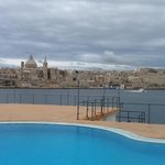 superb loction by the water overlooking Valetta
