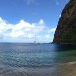Jalousie Beach Pano
