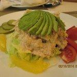 Tuna & avocado sald - yum!