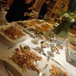 Extensive, delicious buffet