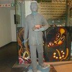 Escultura do Mandela