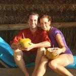 Happy couple at Los Rocas!