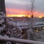 Gardermoen winter dawn