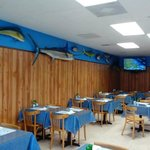 Dine in and check out all the beautiful fish