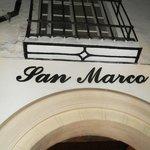 Insegna esterna del ristorante SAN MARCO