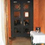 Porta d'ingresso al ristorante San Marco