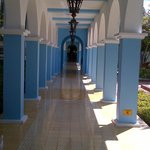 Hallway from the Buffet to the Rooms