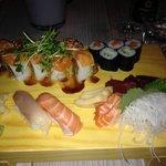 Sushi und Sashimi Chef Plate