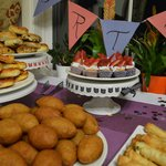 Birthday Catered by Cafe Boutique
