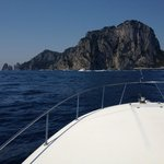 Day hire of boat trip to Capri and back