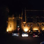 Dalhouise Castle by night
