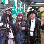 new It volunteer & Jack Sparrow