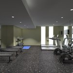 Stay on Track in our Fitness Room