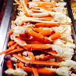 King Crab Leg on Sunday Dinner Buffets only
