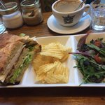 The chicken club sandwich! Really really good!