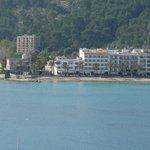 Hotel Marina and the beach