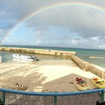Rainbow breakfast at Coral Reef