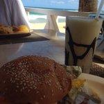 Burger at las olas