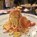 Tagliatelle salmone e arancia!! Spettacolo