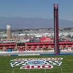 beautiful view at Auto Club Speedway in Fontana, CA