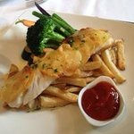 Potato Crusted Fish n Chips