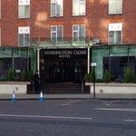 kensington close hotel outside