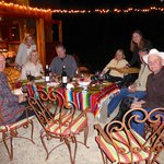 Wine parings dinner night one at the Barn