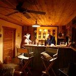 Barn kitchen preparing our dinner