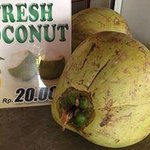Fresh coconuts are always good and even better for you