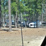 Campers in teh campground