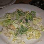 Wonderful Caesar Salad on a Cold Plate